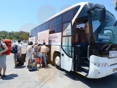 Автобусы Экспресс в аэропорт Даламан из Мармариса