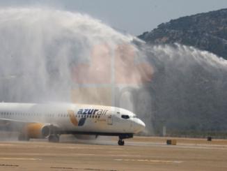 Даламан аэропорт встречает первых туристов